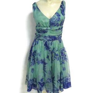 Anthropologie Elevenses Silk Sleeveless Dress 2
